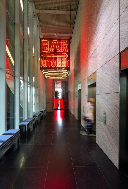 Lift lobby nhow Rotterdam